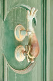 A decorative Bronze Door Handle, Mdina, Malta Stock Image