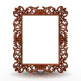 Decorative bronze frame Royalty Free Stock Photos