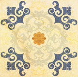 Decorative brown sandstone tile background Royalty Free Stock Photography