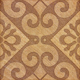 Decorative brown sandstone tile background Royalty Free Stock Image