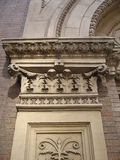 Decorative Building. Nyc Stock Photo
