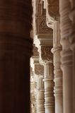 Decorative building columns Royalty Free Stock Images
