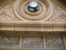 Decorative building in NY. Decorative building in New York City stock images