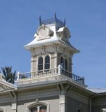 Decorative building tower Stock Photo