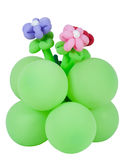 Decorative bunch of balloons Stock Images