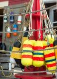 Decorative buoys Stock Photography