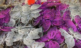 Decorative butterflies Stock Photos