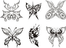 Decorative Butterflies Royalty Free Stock Photo