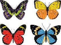 Decorative butterflies Stock Photography