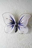 The decorative butterfly. Decorative ornament in the form of the butterfly Stock Image