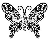 Decorative_butterfly Royalty Free Stock Images