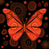 Decorative butterfly Royalty Free Stock Images