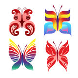 Decorative butterfly Royalty Free Stock Photos