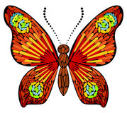 Decorative Butterfly Stock Image