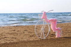 Decorative bycicle Stock Photography