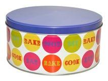 Decorative Cake Tin Stock Photo