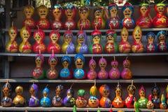 Decorative calabash figure Royalty Free Stock Photo
