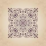 Decorative calligraphic ornamental element for design in vintage style. Calligraphic element for design - useful element to embellish your layout stock illustration