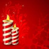 Decorative Candle Royalty Free Stock Photo
