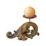 Decorative candle royalty free stock image