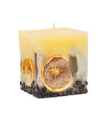 Decorative candle Royalty Free Stock Photos