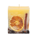 The decorative candle Royalty Free Stock Images