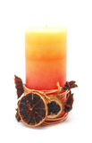 Decorative candle Royalty Free Stock Photography