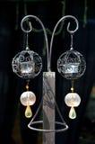 Decorative candle lantern Stock Photography