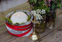 Decorative Candle Stock Photos