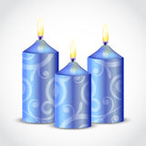 Decorative candle Royalty Free Stock Image