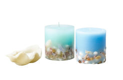 Decorative candles Stock Photo
