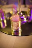 Decorative candles Royalty Free Stock Photos
