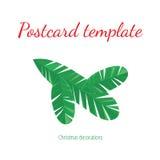 Decorative card Royalty Free Stock Photos