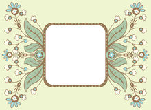 Decorative card Royalty Free Stock Image