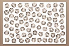 Free Decorative Card For Cutting. Ethnic Decorative Pattern. Laser Cut Panel. Ratio 2:3. Vector Illustration Royalty Free Stock Image - 119129526