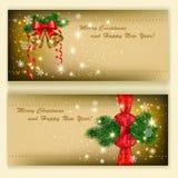 Decorative cards Stock Photos