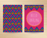 Decorative Cards Royalty Free Stock Photo