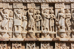 Decorative carving, Jagdish temple, Udaipur, India Stock Photo
