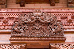 Decorative carvings Royalty Free Stock Photo