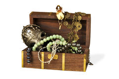 Decorative casket Royalty Free Stock Images