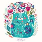Decorative cat Royalty Free Stock Photos