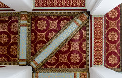 Decorative cathedral ceiling. Royalty Free Stock Photo