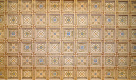 Decorative ceiling Royalty Free Stock Photography