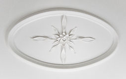 Decorative ceiling detail Stock Images