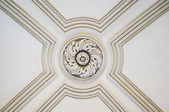 Decorative ceiling detail Royalty Free Stock Photography