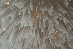 Decorative ceiling lights Royalty Free Stock Photo
