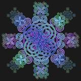 Decorative Celtic design. Royalty Free Stock Photography
