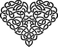 Decorative Celtic Heart Royalty Free Stock Photos