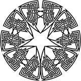 Decorative celtic knot Stock Photos