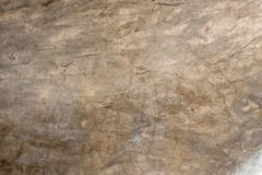 Decorative cement plaster effect from the wall. Texture of construction wall 2 stock photos